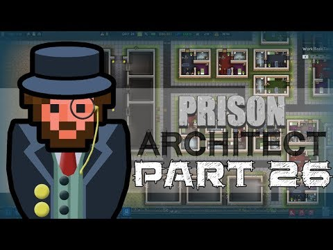 Let's Play - Prison Architect - Food Court Flooring?