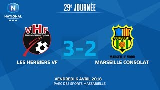Les Herbiers vs Marseille Consolat full match