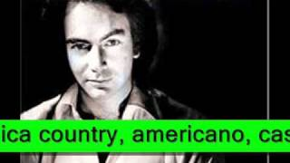 Hombre Solitario - Neil Diamond (video radio rock de amigos).wmv