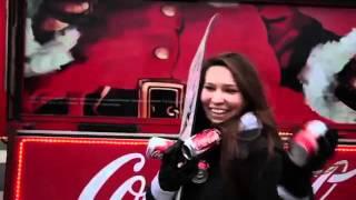Новогодний чудо грузовик от Coca-Cola