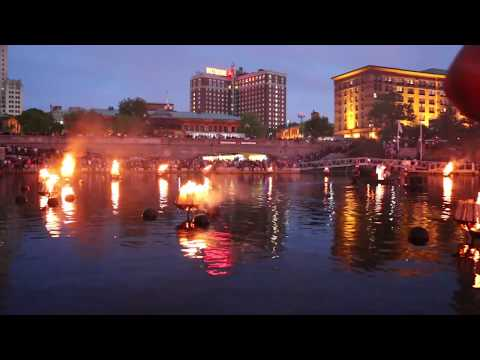 WaterFire Providence | May 27th 2017 Bank of America, Brown University