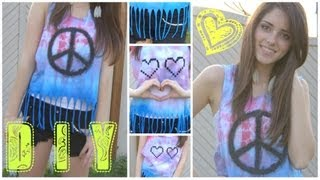DIY T-shirt UPCYCLING (dip-Dye)