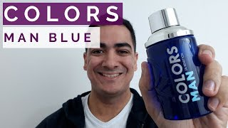 PERFUME COLORS MAN BLUE BY BENETTON
