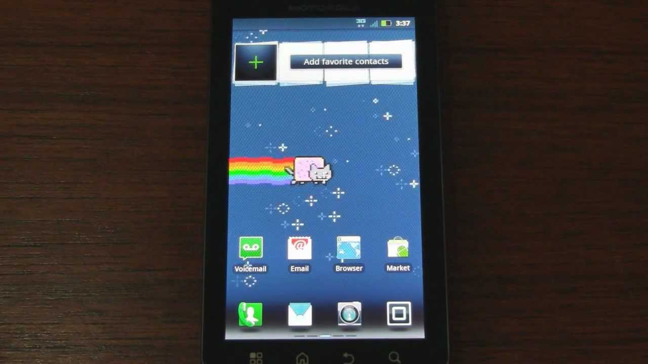 Nyan Cat Live Wallpaper For Android Smartphones