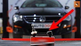 Guarda una guida video su come cambiare VW PASSAT CC (357) Barra accoppiamento