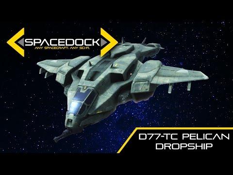 Halo: D77-TC Pelican Dropship - Spacedock
