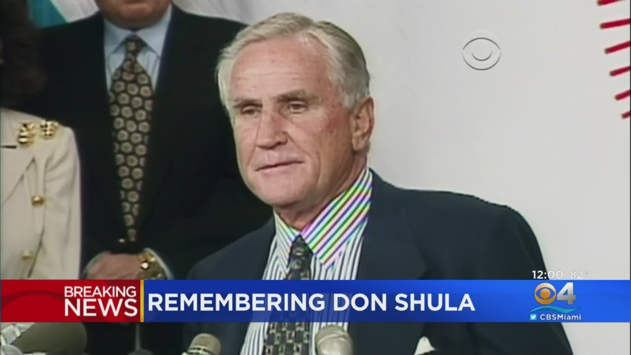 More than a coach, Don Shula a symbol who put Miami on the map
