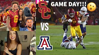 GAME DAY VLOG... USC vs Arizona (HOMECOMING)