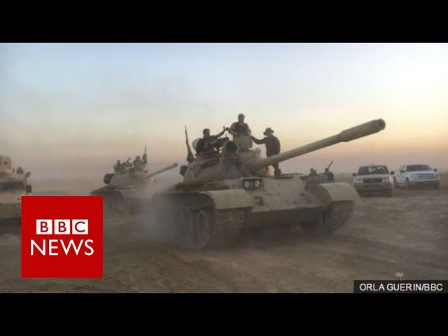 Battle for Mosul: Operation to retake Iraqi city from IS begins - BBC News