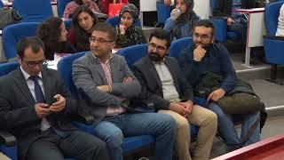 """ERÜ Hukuk Fakültesi Tarafından """"Suç Teorisinin Genel Esasları"""" Konulu Konferans Düzenlendi"""