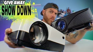 Battle of the Budget Projectors | GIVE AWAY | Best Cheap Projector