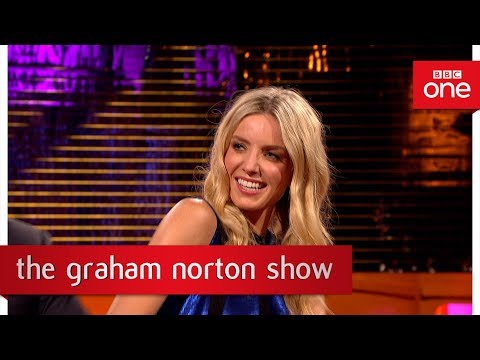Annabelle Wallis loves to dance on set  The Graham Norton : 2017  BBC One