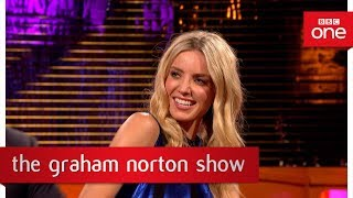 Annabelle Wallis loves to dance on set - The Graham Norton Show: 2017 - BBC One
