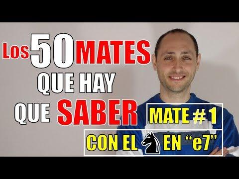 """🛑-los-50-jaque-mates♔♚que-hay-que-saber❗❗-#1:-con-el-caballo♘en-""""e7"""""""