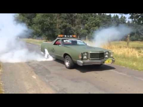 1978 ford ranchero burnout - 1978 Ford Ranchero