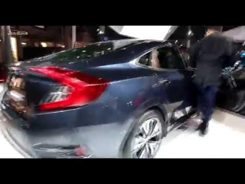 Honda Civic 10th Gen Displayed in Auto Expo 2018 | Check Exterior, Interior