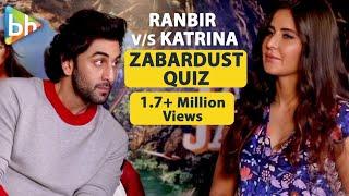 I Am A Katrina Kaif Encyclopedia | Ranbir Kapoor | Quiz | Jagg…