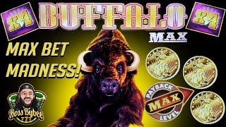 🌕 Buffalo MAX! 🌕 16X Multipliers! Newest Buffalo Slot Machine! BIG WINS at MAX BET! S1E3