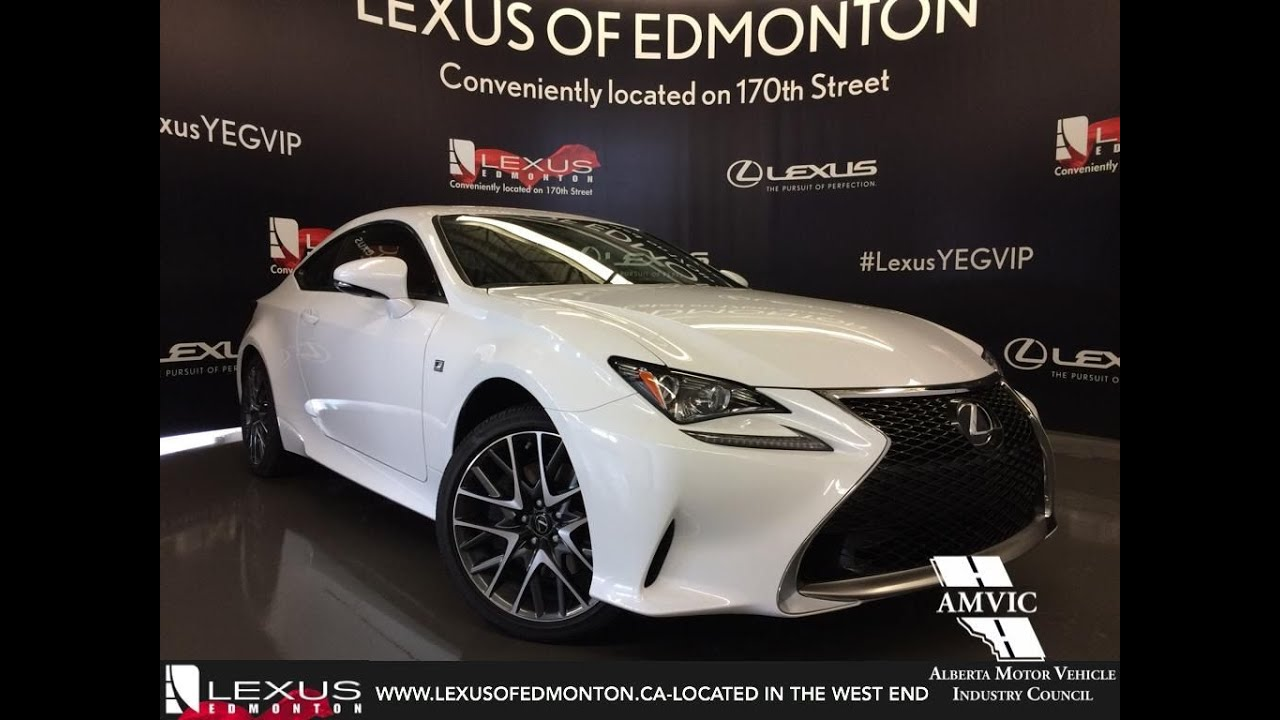 2016 lexus rc 300 awd f sport review youtube. Black Bedroom Furniture Sets. Home Design Ideas