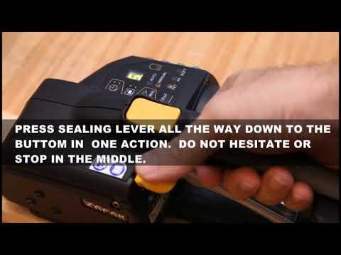 Pacmasta ZP 92/93/96/97 Battery Tool Operation Video