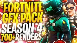 FORTNITE GFX PACK | [Season 4] | [700+ Renders] *FREE*
