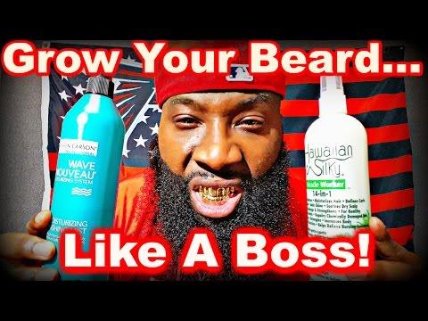 How to Grow Your Beard Like a Boss!
