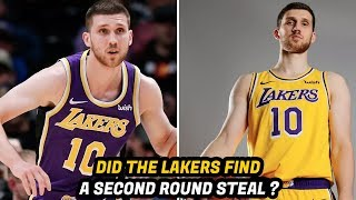 The Lakers and LeBron James' 3 Point Specialist | Who is Svi Mykhailiuk?