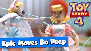 Епічні ходи Бо Піп лялька дій - огляд, Розпакування, і зупинка руху | Нова Історія Іграшок 4 іграшки