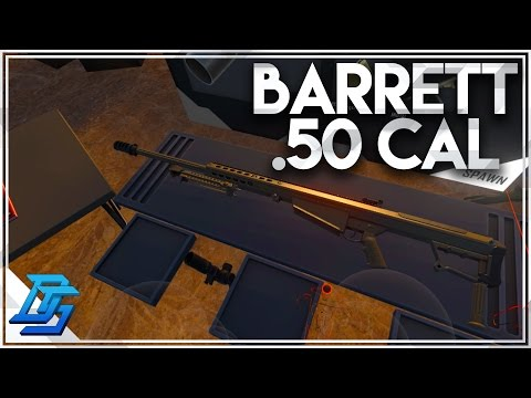 Hot Dogs, Horseshoes & Hand Grenades (VR) - Barrett .50 Cal/Tons of New Realistic Guns (HTC VIVE)