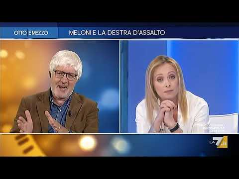 Giorgia Meloni a 'Otto e Mezzo' dalla Gruber: Non potete perdervelo!