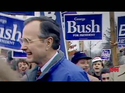 CNN Race for the White House 3of6 Bush vs Dukakis