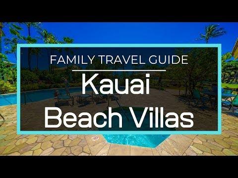Kauai Beach Villas Review, Room Tour, Resort Tour | Family Vlog In Kauai Hawaii