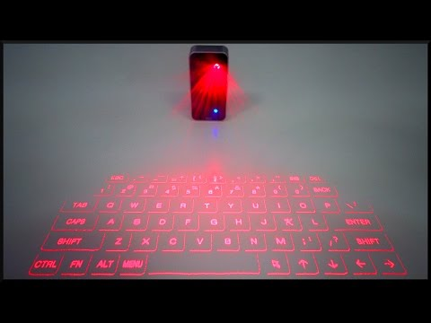 Laser Keyboard?! (with typing test)