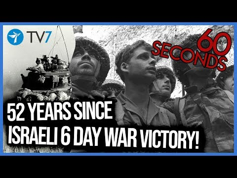 52 years since Six Day War - This Week in 60s 8 6 19 - YouTube