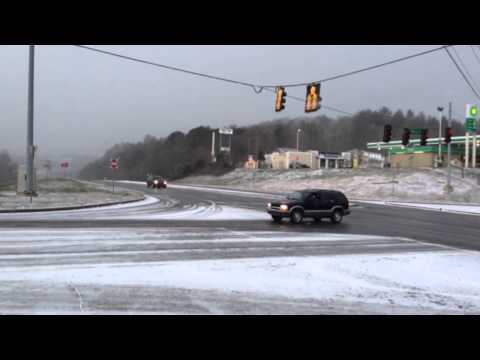 Winter Weather: AJC Reports Live From Ellijay