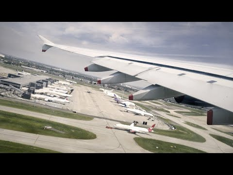 BRITISH AIRWAYS Airbus A380-800 Awesome Takeoff from LHR London Heathrow Airport