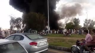 Sunday markeet islamabad اتوار بازار اسلام آباد میں آتشزدگی