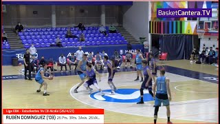 RUBÉN DOMÍNGUEZ ('03) Estudiantes (26 Pts. 3Rts. 3Asit. 26 VAL.) vs. EBA Alcalá #BasketCantera.TV