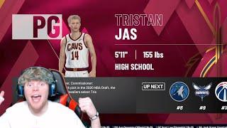 Reacting To Tristan Jass NBA Career Simulation!