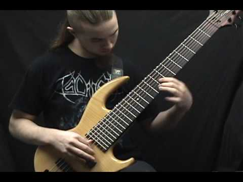 Brain Drill - Bury The Living on bass guitar