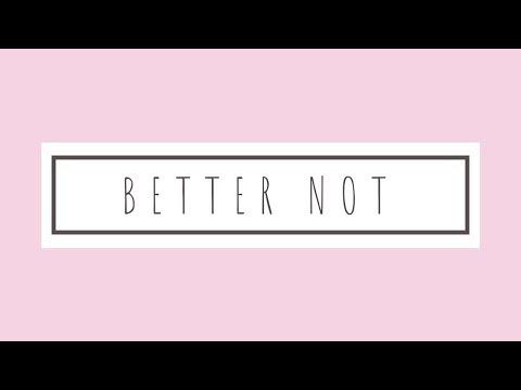 Louis the Child ft. Wafia - Better Not (telepathics remix)