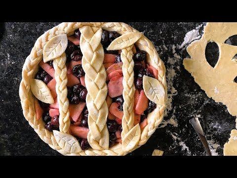 Apple Cherry Pie Recipe   Episode 136