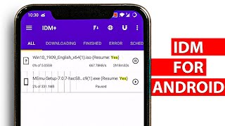 IDM for Android - Best Download Manager for Android screenshot 3