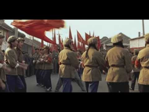 Communists Girls Singing a Song in Beijing, China