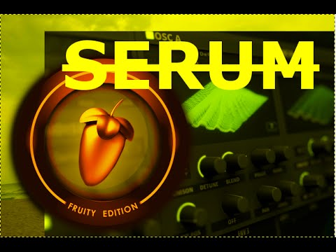 how to add serum to fl studio
