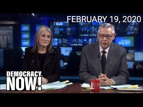 Top U.S. & World Headlines — February 19, 2020
