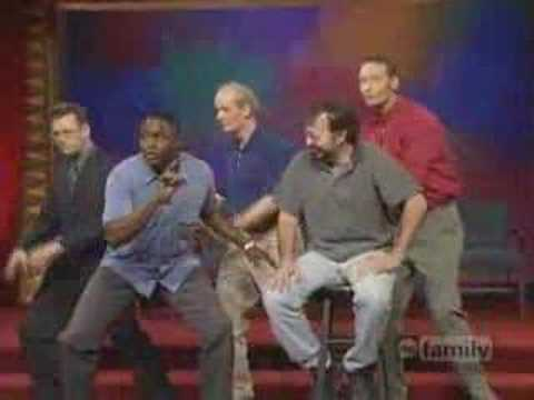 Whose line is it anyway? african chant