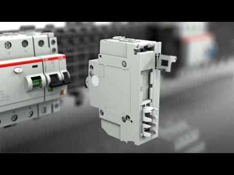 ABB Pluggable MCB RCBO RCCB with SmisslineTouchProof