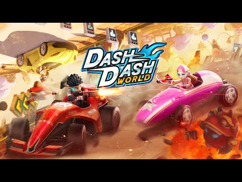 Dash Dash World Review: Is this Mario Kart for VR?? | HD Gameplay