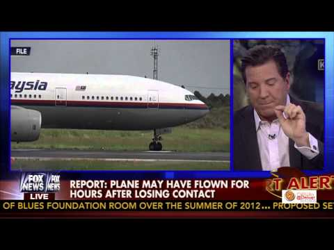 """FOX's Eric Bolling Blasts NSA Spying on us But Can't figure out where Malaysia Flight MH370"""" is"""